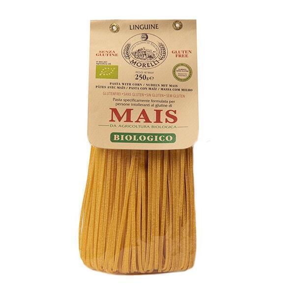 Saveurs de Tosca - Pâtes BIO de maïs Linguine Morelli - 250 gr Pâtes artisanales to