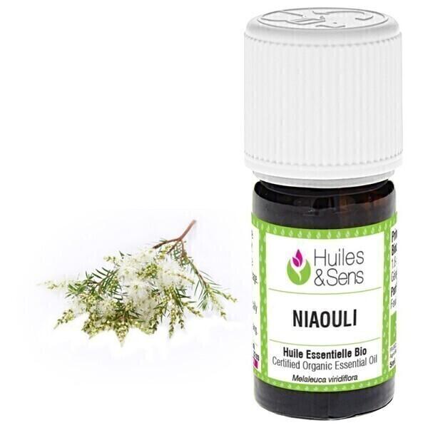Huiles & Sens - huile essentielle niaouli (bio)