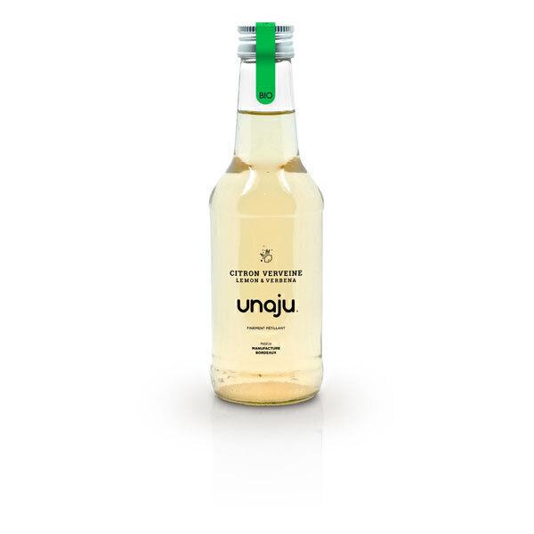 Unaju - Boisson pétillante citron verveine 25cl