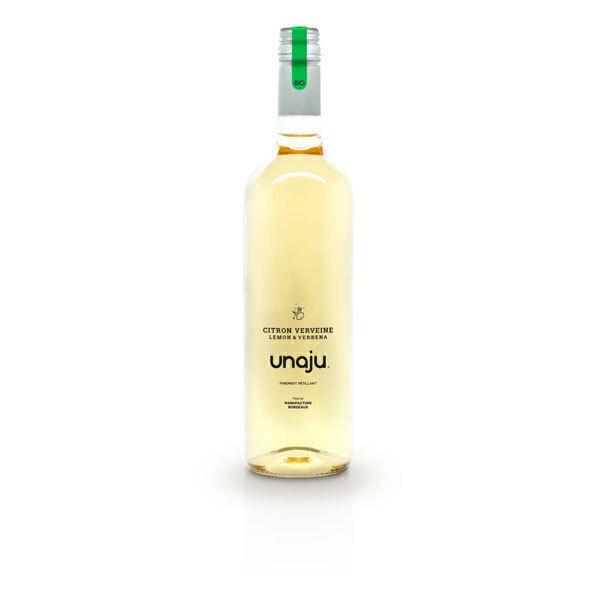 Unaju - Boisson pétillante citron verveine 75cl