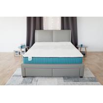 Sarah et Maël - Surmatelas Confort 140x190 cm-Memoire de Forme-Confort 7 zones