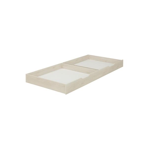 Galipette - Option tiroir lit combiné Sacha Pin blanchi