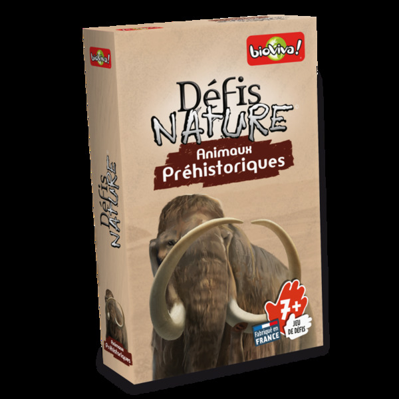 Bioviva - Défis Nature - Animaux Préhistoriques