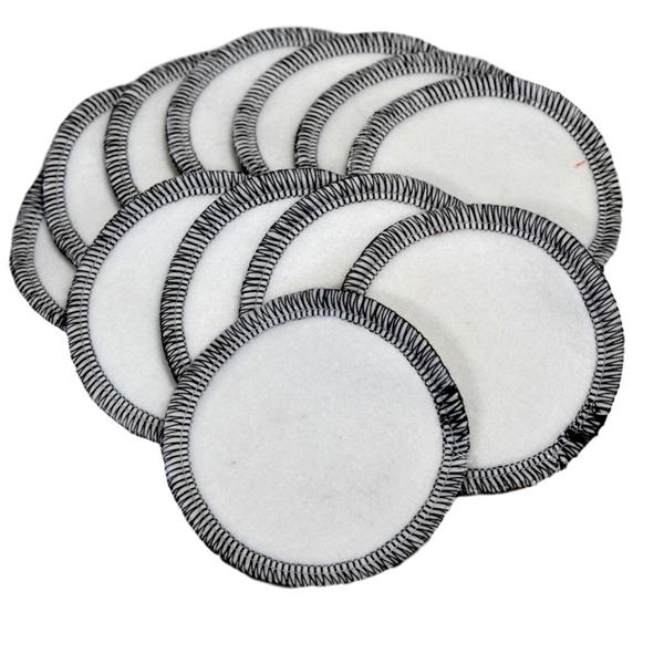 Lulu Nature - Lot 12 lingettes disques à démaquiller en Coton Bio
