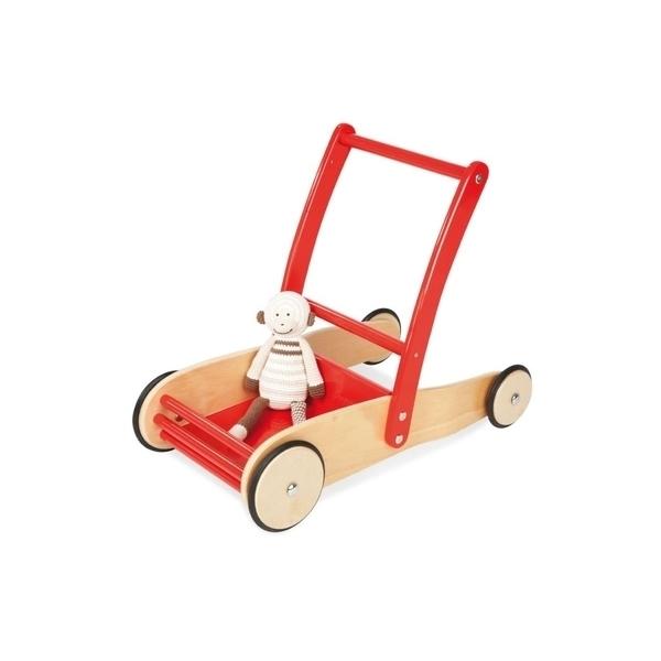 Pinolino - ULI Chariot de marche Rouge