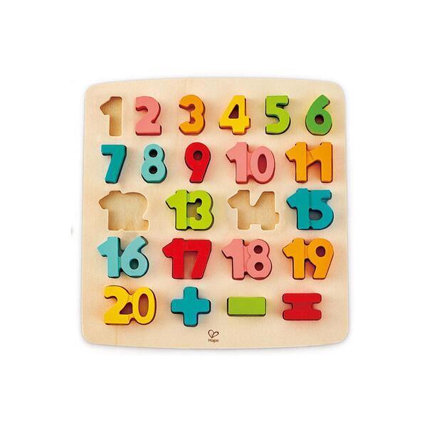Hape - Puzzle premiers calculs