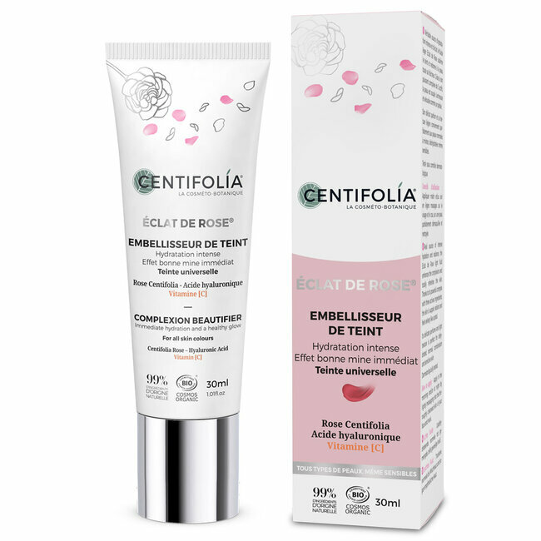 Centifolia - Embellisseur de Teint bio Eclat de Rose - Tube 30ml