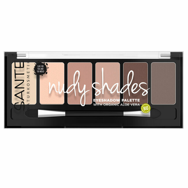 Sante Naturkosmetik - Palette Fards à paupières Nude n°1 Bio 6g