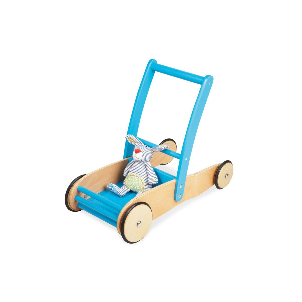 Pinolino - ULI Chariot de marche Turquoise