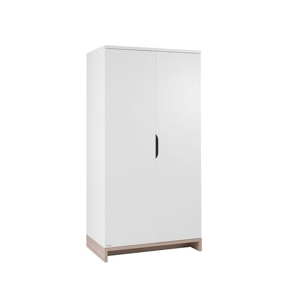 Galipette - Armoire 2 portes Lilo - Blanc bois