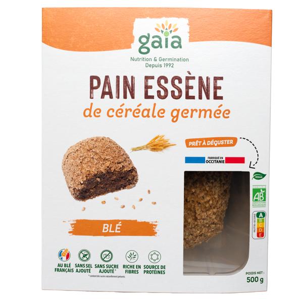 Gaïa - Pain de céréales germées blé 500g