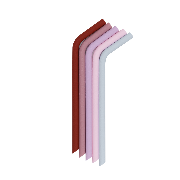 We Might be Tiny - Pailles en silicone Bloom (lot de 5)
