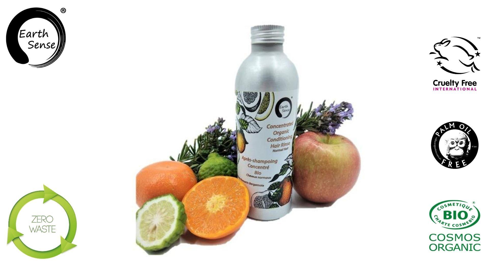 Earth sense organics - Apres Shampoing concentré - Cheveux normaux