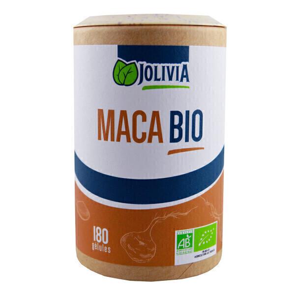 Jolivia - Maca Bio - 180 gélules végétales de 380 mg
