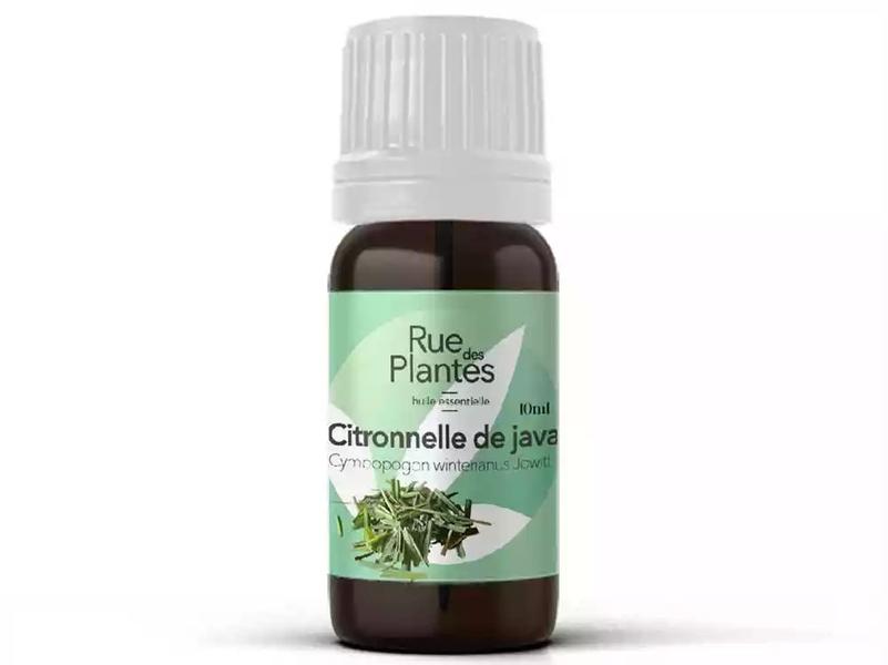Rue des Plantes - Huile essentielle de citronnelle de java bio 10ml