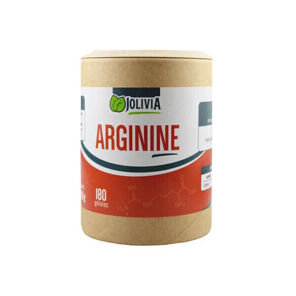 Jolivia - L-Arginine - Gélules de 500 mg