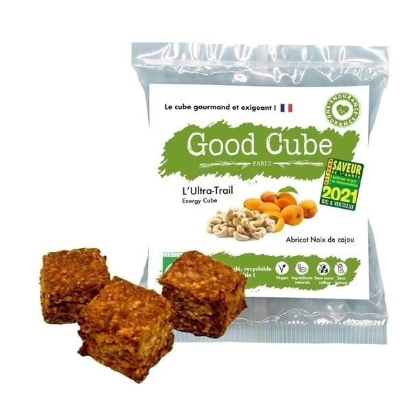 Good Cube - Biscuits bio abricots/noix de cajou - L'Ultra-Trail