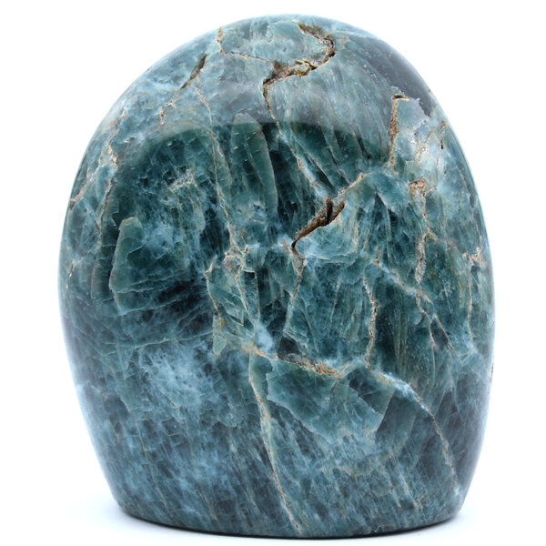 Ravaka & Mineraly - Apatite verte 520gr 85mm de Madagascar
