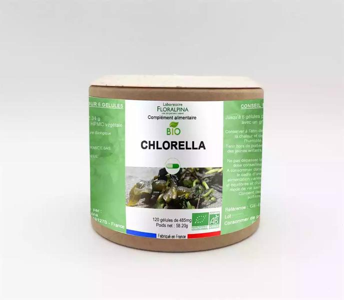 Rue des Plantes - Chlorella bio 120 gélules