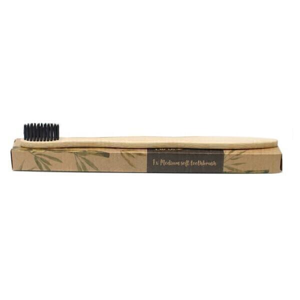 AW Gift - Brosse à dents en bambou au charbon actif