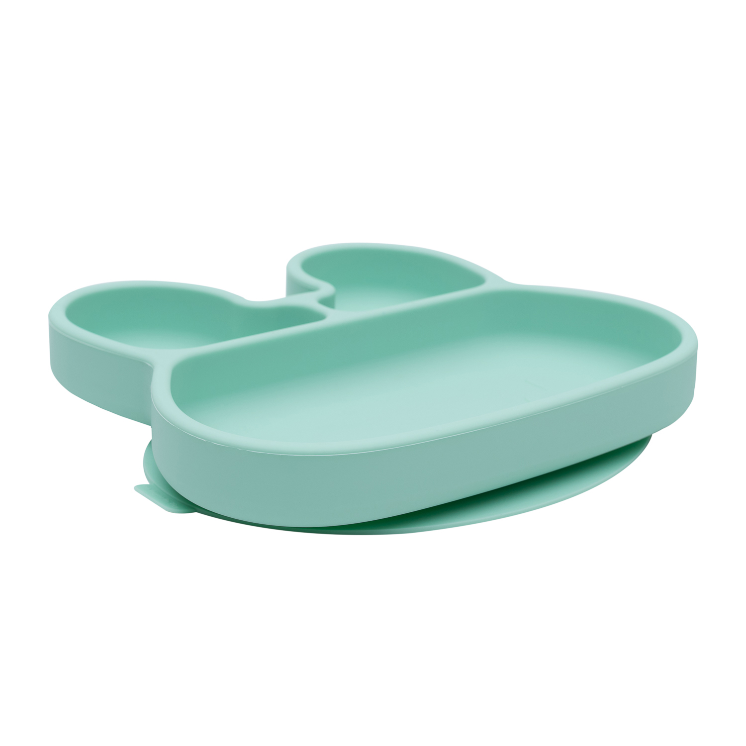We Might be Tiny - Assiette en silicone Lapin Menthe