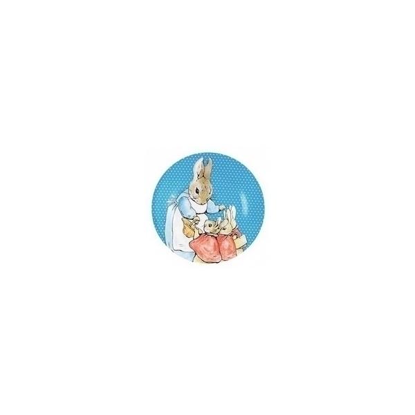 Petit Jour - Assiette Pierre Lapin Bleu