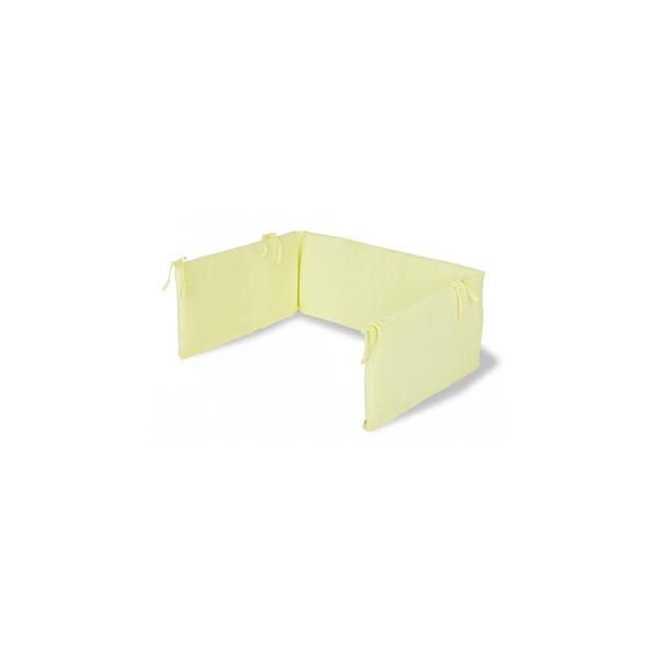 Pinolino - Tour de lit en jersey pour lits de bébé lemon