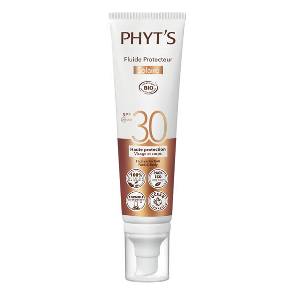 Phyt's - Fluide protecteur solaire SPF30 100ml