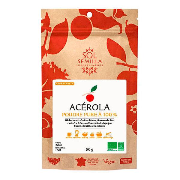 Sol Semilla - Acérola en poudre 50g