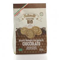 Saveurs de Tosca - Biscuits BIO aux pépites de chocolat Pasta Natura - 250 gr itali