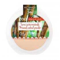 Zao MakeUp - Recharge Terre cuite minérale 346 Matifiante