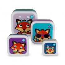 Tum Tum - Lot de 4 Boites gigognes Felicity Fox