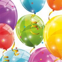 DECORATA PARTY - 20 Serviettes Ballons