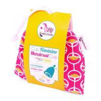 Lamazuna - Cup menstruelle Taille 1 pochette rose