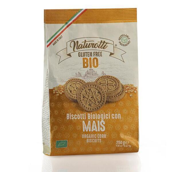 Saveurs de Tosca - Biscuits BIO au maïs Pasta Natura - 250 gr italien sans gluten