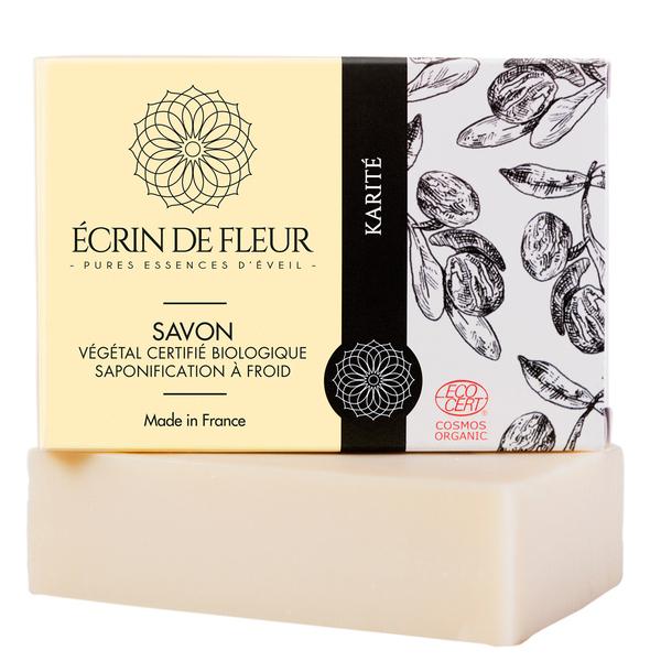 Écrin de fleur - Savon Bio Karité sans huiles essentielles 100g