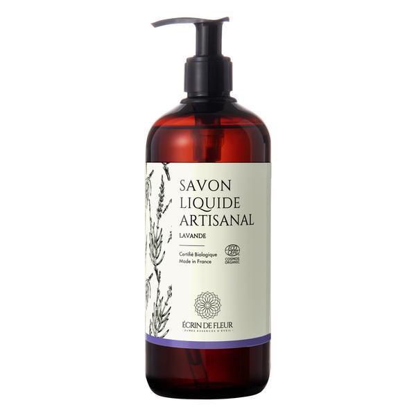 Écrin de fleur - Savon Liquide Certifié Biologique - Lavande 1x500ml