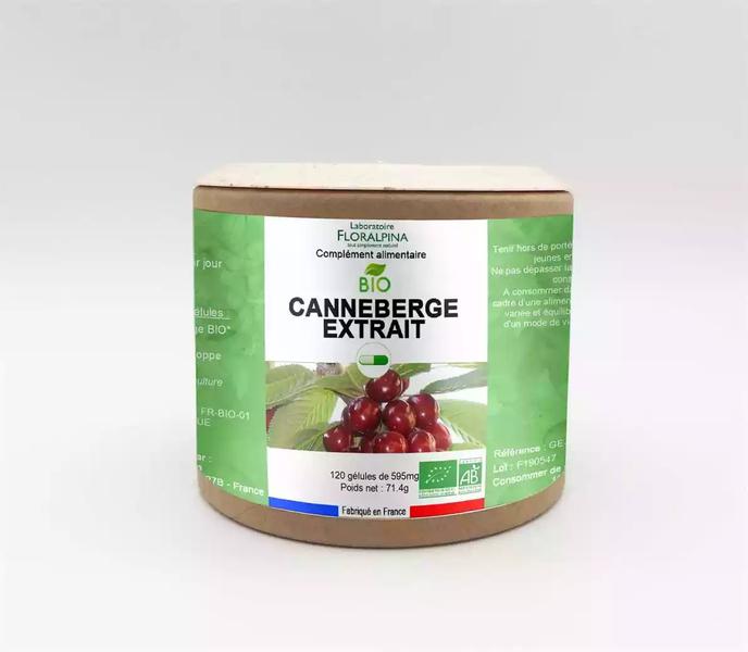 Rue des Plantes - Canneberge extrait bio 120 gélules