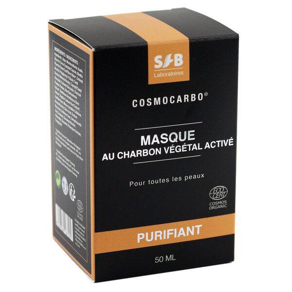 Laboratoires SFB - Masque au charbon végétal Purifiant bio 50ml