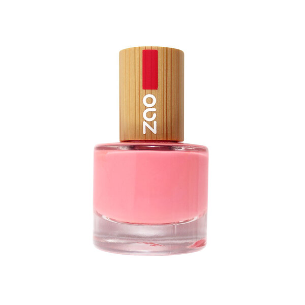 Zao MakeUp - Vernis à ongles : 654 Rose bonbon