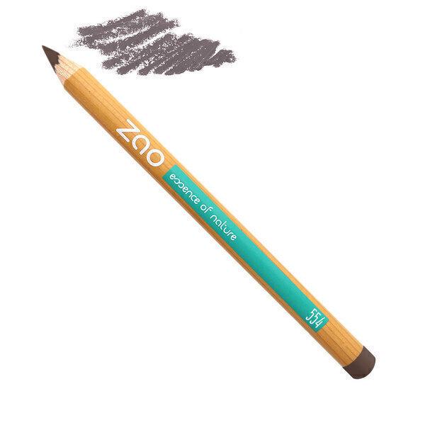 Zao MakeUp - Crayon sourcils 554 Brun clair