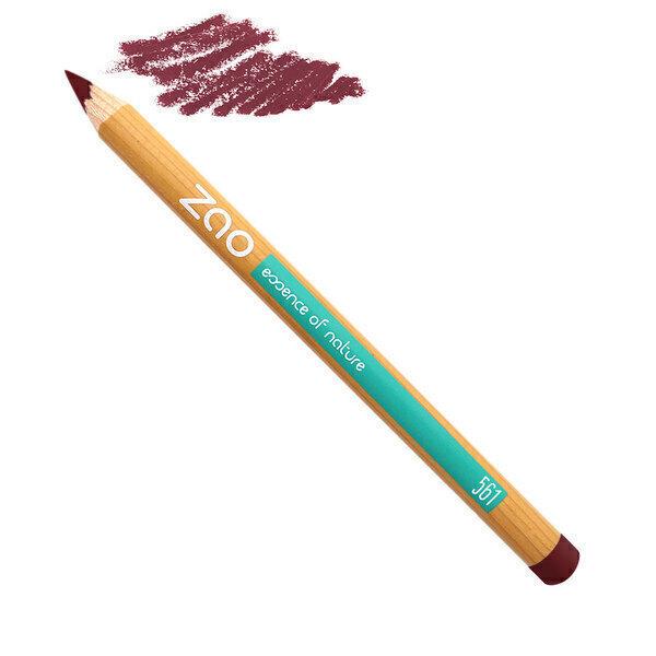 Zao MakeUp - Crayon Lèvres 561 Ocre rouge