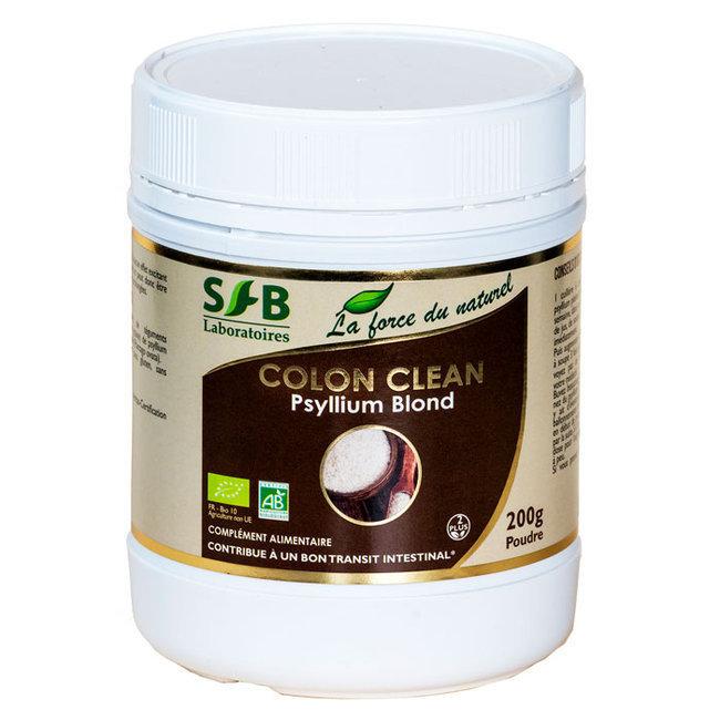 Laboratoires SFB - Colon Clean bio - Fibres de psyllium - 200g