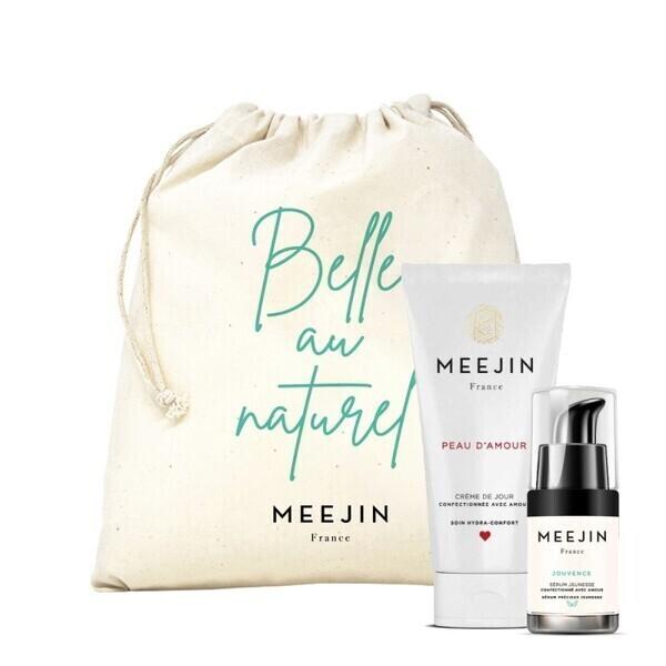 Meejin France - Coffret routine visage bio meejin