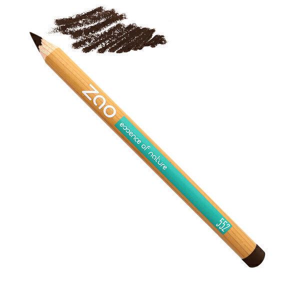 Zao MakeUp - Crayon sourcils 552 Brun foncé