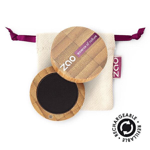Zao MakeUp - Ombre à paupières mate 206 Noir