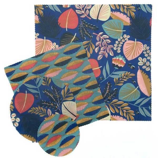 SLOW&CO - Kit découverte emballage réutilisable Exotic Blue