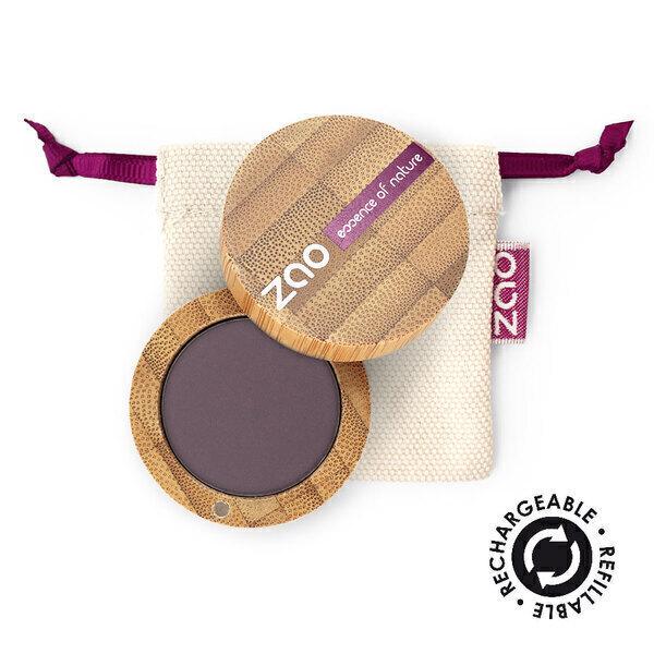 Zao MakeUp - Ombre à paupières mate 205 Violet sombre