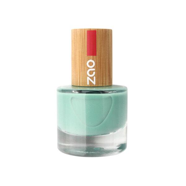 Zao MakeUp - Vernis à ongles : 660 Vert d'eau