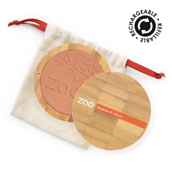 Zao MakeUp - Fard à joues 324 Rouge brique